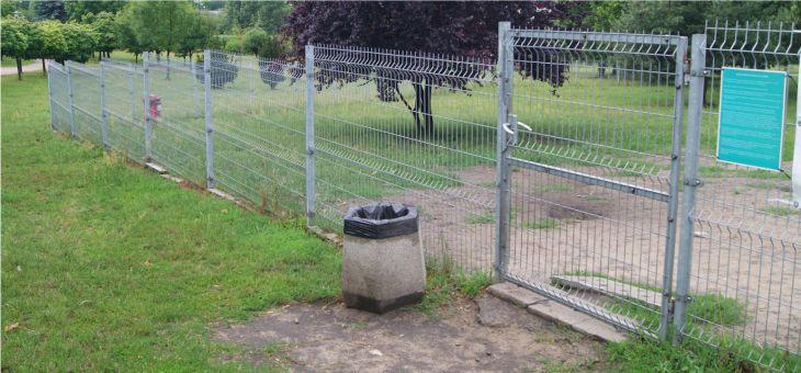 Wybieg dla psów w Parku Środula