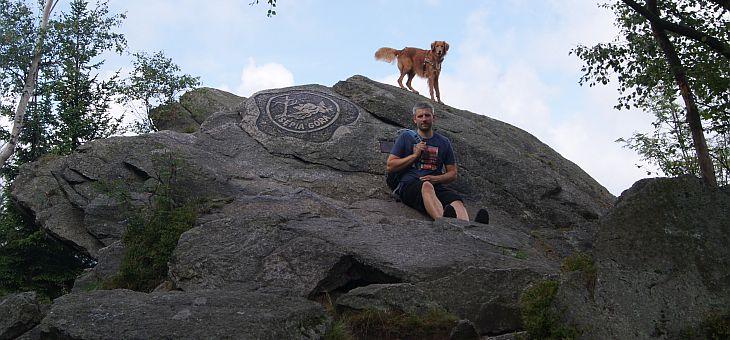 Sępia Góra z psem