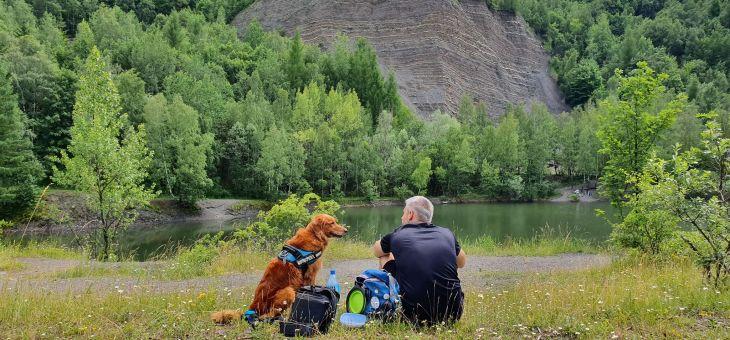 Spacer z psem na Hrobaczą Łąkę