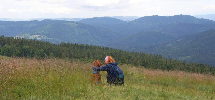 Wielka Rycerzowa z psem
